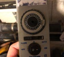 Télécommande / horloge de filtration