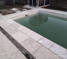 Vues des piscine avant nettoyage