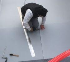 Pose membrane PVC