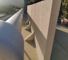 Renfort du beton cellulaire