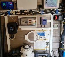 Pose d'une sonde redox permettant de réguler le fonctionnement de l'electrolyseur