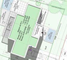 Plan de l'implantation du projet