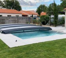 Ca y'est, piscine terminée après 10 mois de travaux
