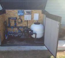 Local technique et pompe à chaleur