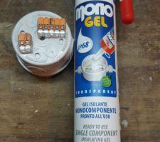 Bte plexo et gel isolant en attente avec ses wago