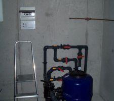 INstallation coffret électrique et raccordement.