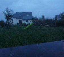 Le jardin avant le grand chambardement