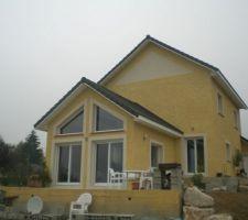 1ère terrasse terminée