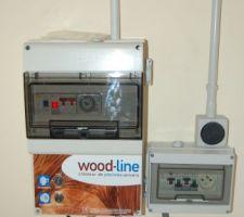 Compteur WOOD LINE