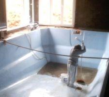 Nettoyage avant mise en eau