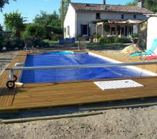 kit aquadiscount les photos de la piscine. Black Bedroom Furniture Sets. Home Design Ideas