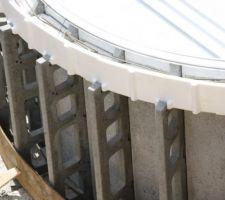 Détail structure escalier