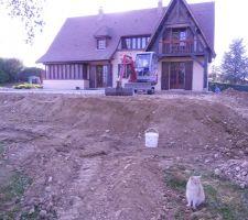 Construction d'une terrasse de 190m²
