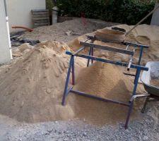 Tamisage du sable