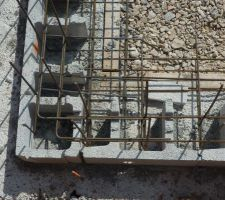 Angle chainage bas