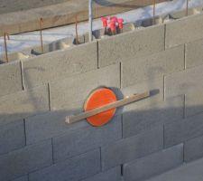 Mise en place, protection et blocage des projecteurs