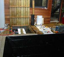 Puis l'aspect plomberie et mecanique
