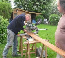 Oufti c'est bien dur,les outils sont mis à rude épreuve !!!
