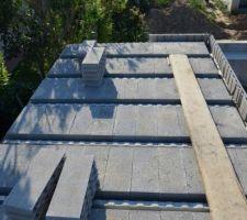 Plancher hourdis pour faire un toit terrasse
