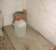 Emplacement du local technique dans le sous-sol