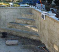 Escalier d'angle