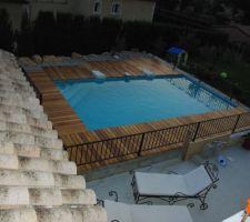 Vue générale de la piscine