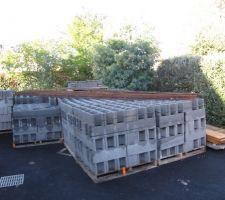 Livraison de 15 tonnes de matériel