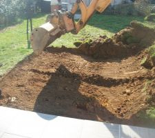 Décapage terre végétale