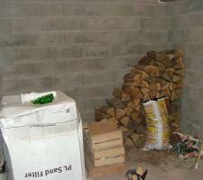 Futur emplacement du matériel technique dans la cave
