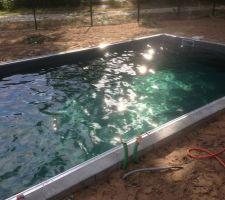 Le 1er bain