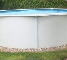 La piscine trigano acier ronde que j'envisage d'enterrer
