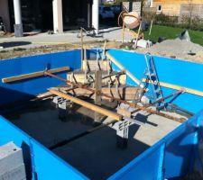 Fabrication escalier angle