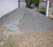 Les 8 tonnes de gravier 6,3 x 14 mm